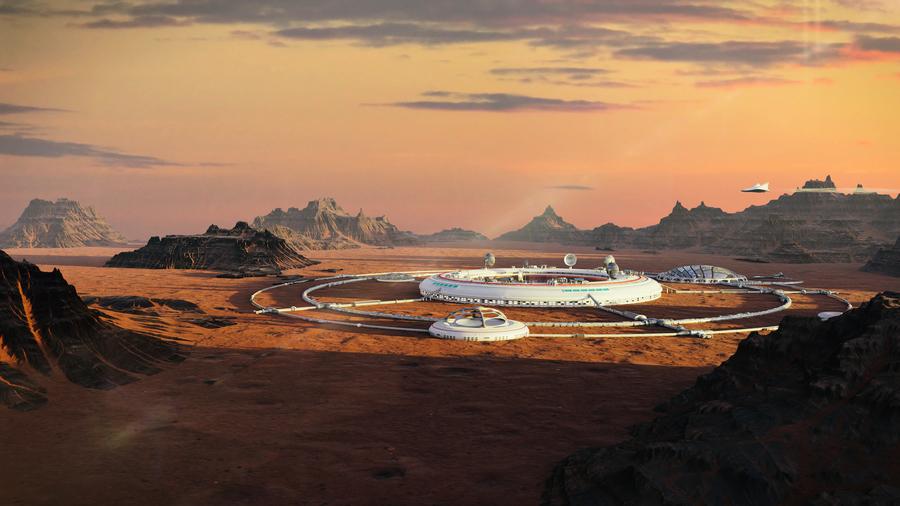 火星上殖民 首個城市計劃出爐