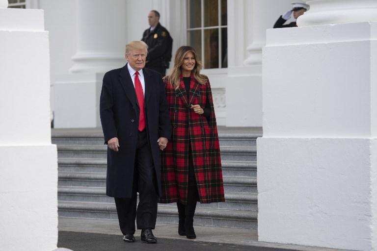 12月3日,特朗普總統在推特上向外界發佈了一些G20跟中方談判的消息,並再次強調他跟習近平的個人友誼。(Jim WATSON/AFP)