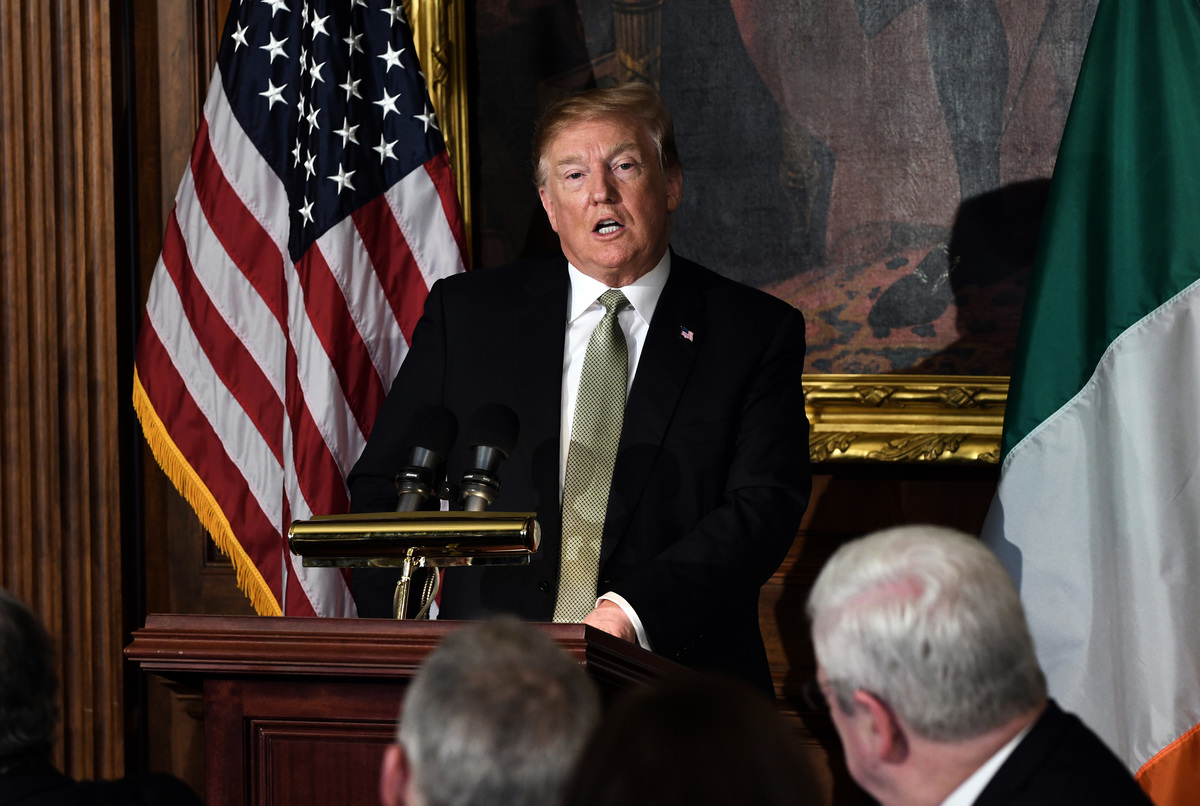 周四(3月14日),美國聯邦參議院以59票對41票反對特朗普總統的邊境緊急聲明。特朗普總統隨後在推特上寫道:「否決」。這將是特朗普總統上任以來首次否決國會通過的議案。(Olivier Douliery-Pool/Getty Images)