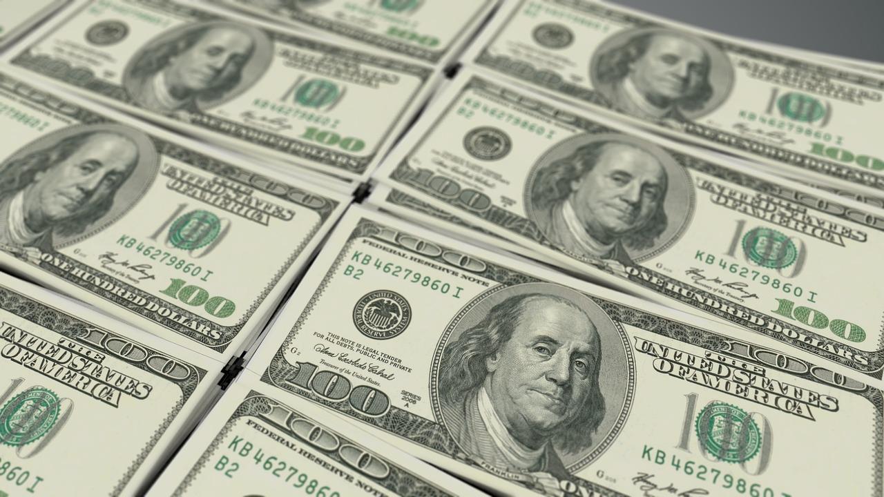 美元示意圖。(Pixabay)