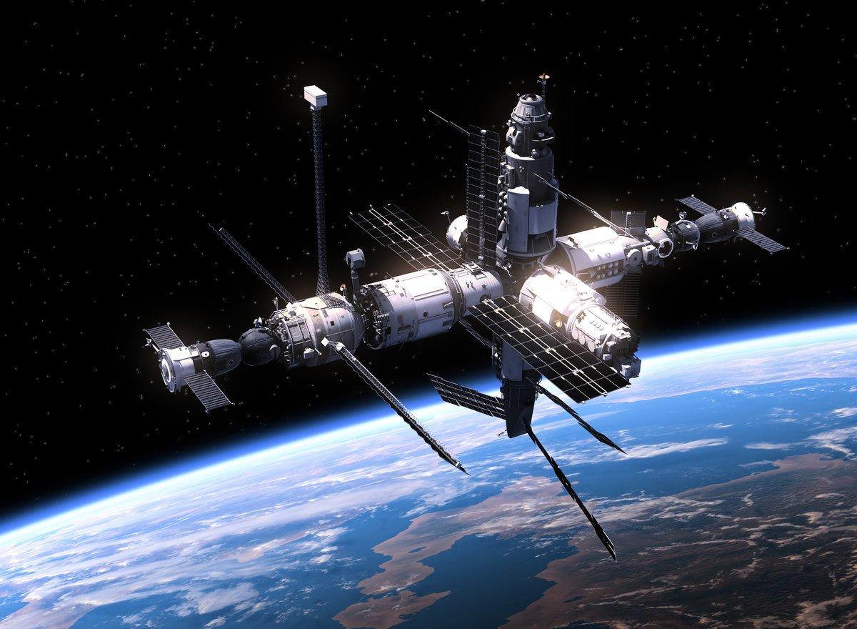 國際太空站示意圖。(ShutterStock)