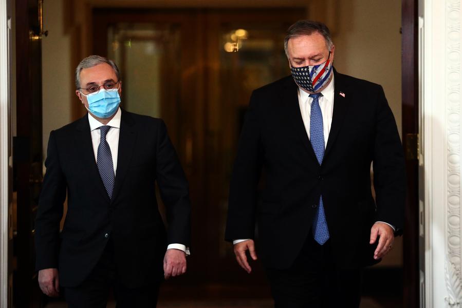 蓬佩奧加緊斡旋 以結束亞美尼亞阿塞拜疆衝突