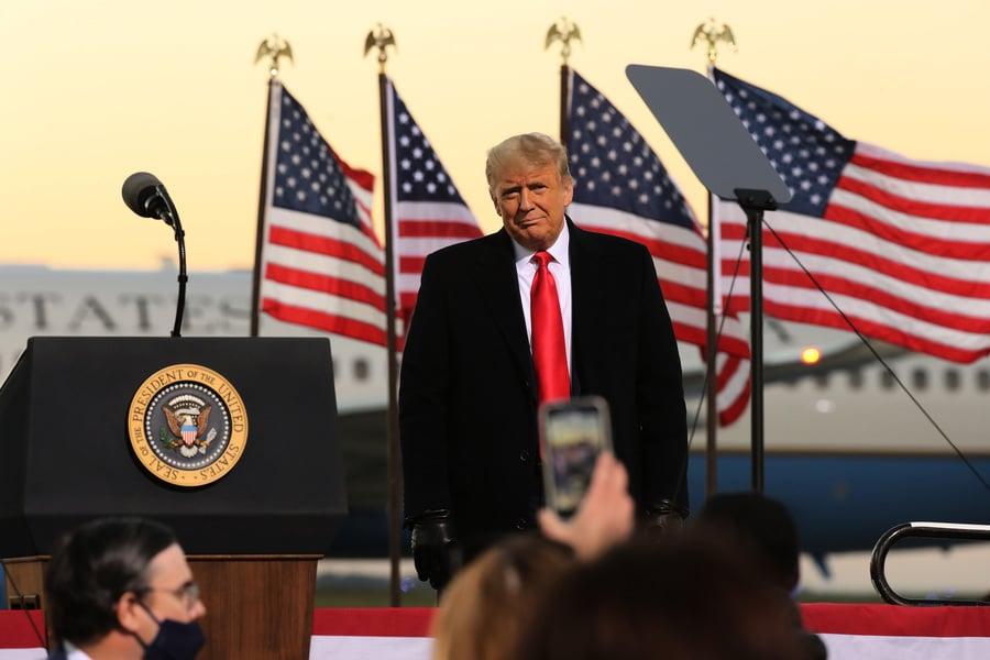 專家預測特朗普拿下關鍵搖擺州 贏得美國大選