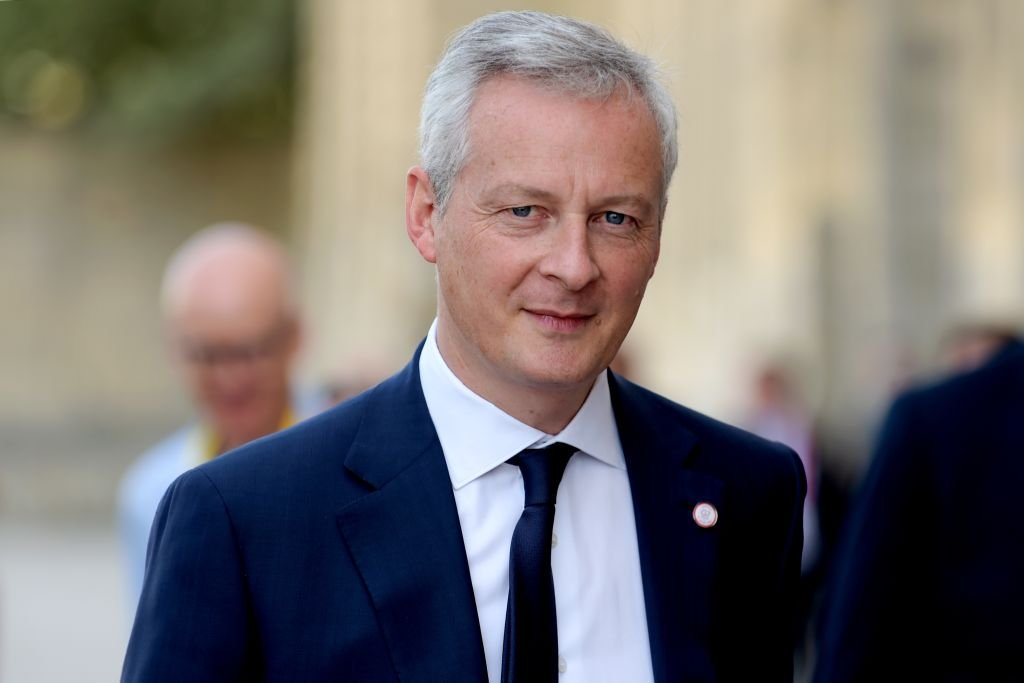法國財政部長布魯諾·勒·邁爾(Bruno Le Maire)表示,法國、意大利和德國將準備採取措施,阻止臉書在歐洲推出虛擬貨幣Libra。(ERIC PIERMONT/AFP/Getty Images)