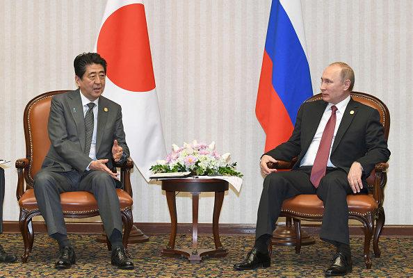 日媒報道稱,美國曾在11月告誡日本,「與普京的會談不要在東京進行」這樣會使歐美的「對俄制裁」出現鬆動。但日本並未同意,(Getty Images)