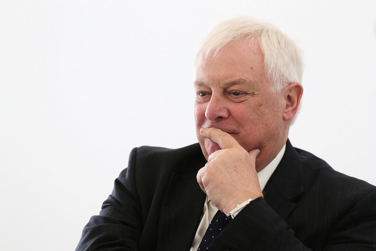英國最後一位香港總督彭定康(Lord Patten)譴責中共背叛了香港人民。圖為彭定康資料照。(Oli Scarff/Getty Images)