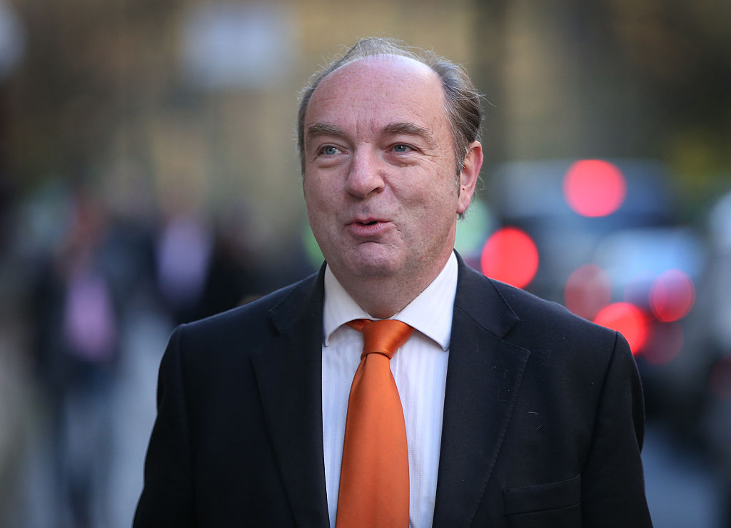 貝克爾曾經在英國政府擔任交通部次長。(Peter Macdiarmid/Getty Images)