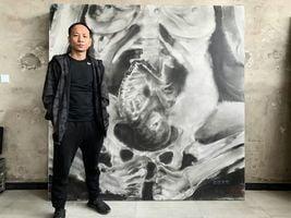 作品揭露中共計生罪行 王鵬畫室將被強拆