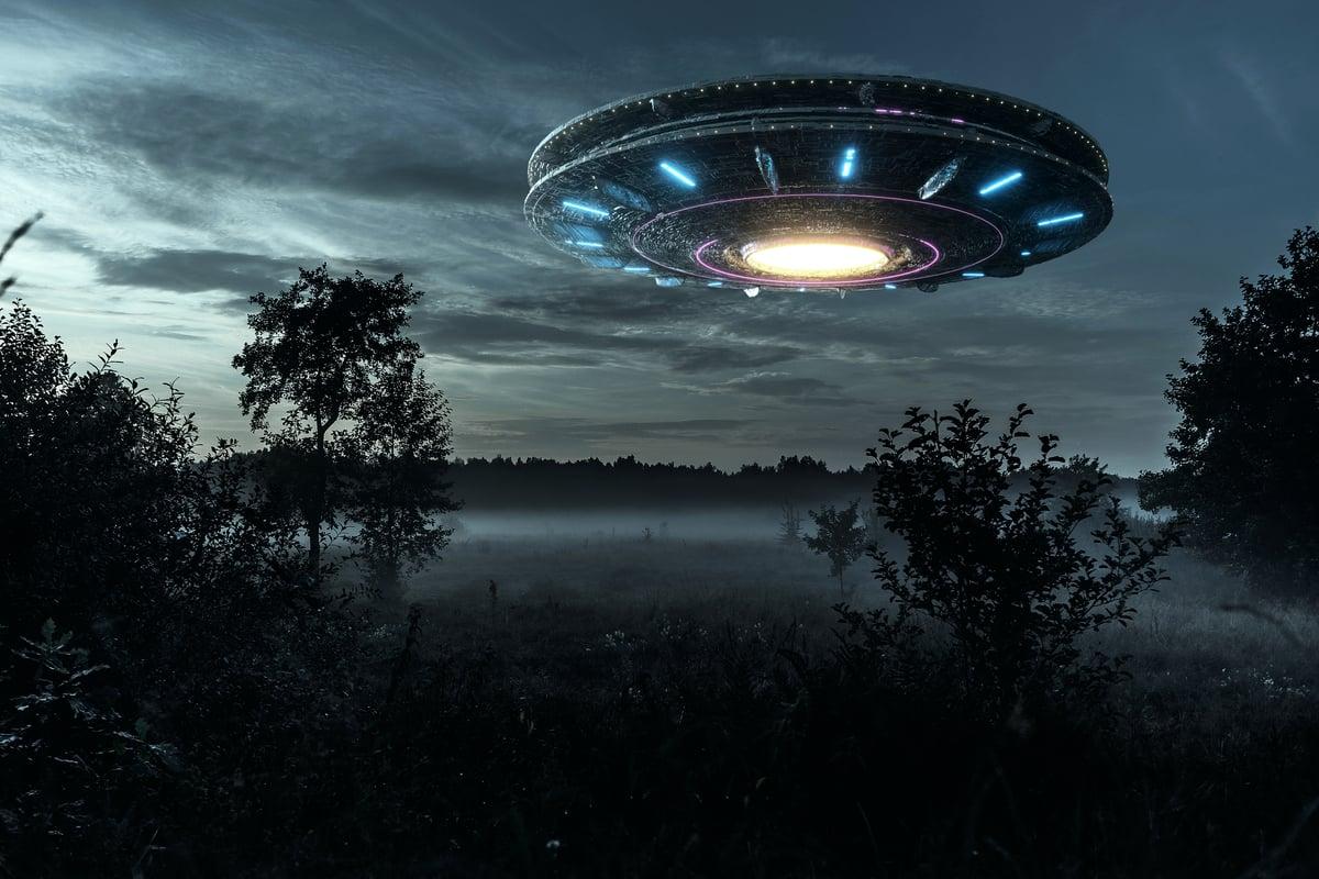 日本福島市飯野町將成立一個新的國際不明飛行物(UFO)研究所(簡稱UFO研究所),收集、分析和發佈全世界的目擊者報告。圖為UFO示意圖。(Shutterstock)