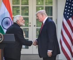 特朗普莫迪談中印邊界衝突 莫迪受邀參加G7