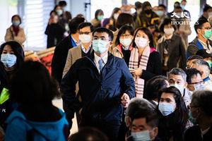 口罩一片難求 台灣指揮中心:實名制研議中