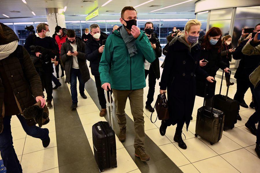 俄羅斯反對派領袖返國 莫斯科機場被捕