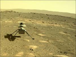 NASA創新號直升機落地火星 將歷史性首飛