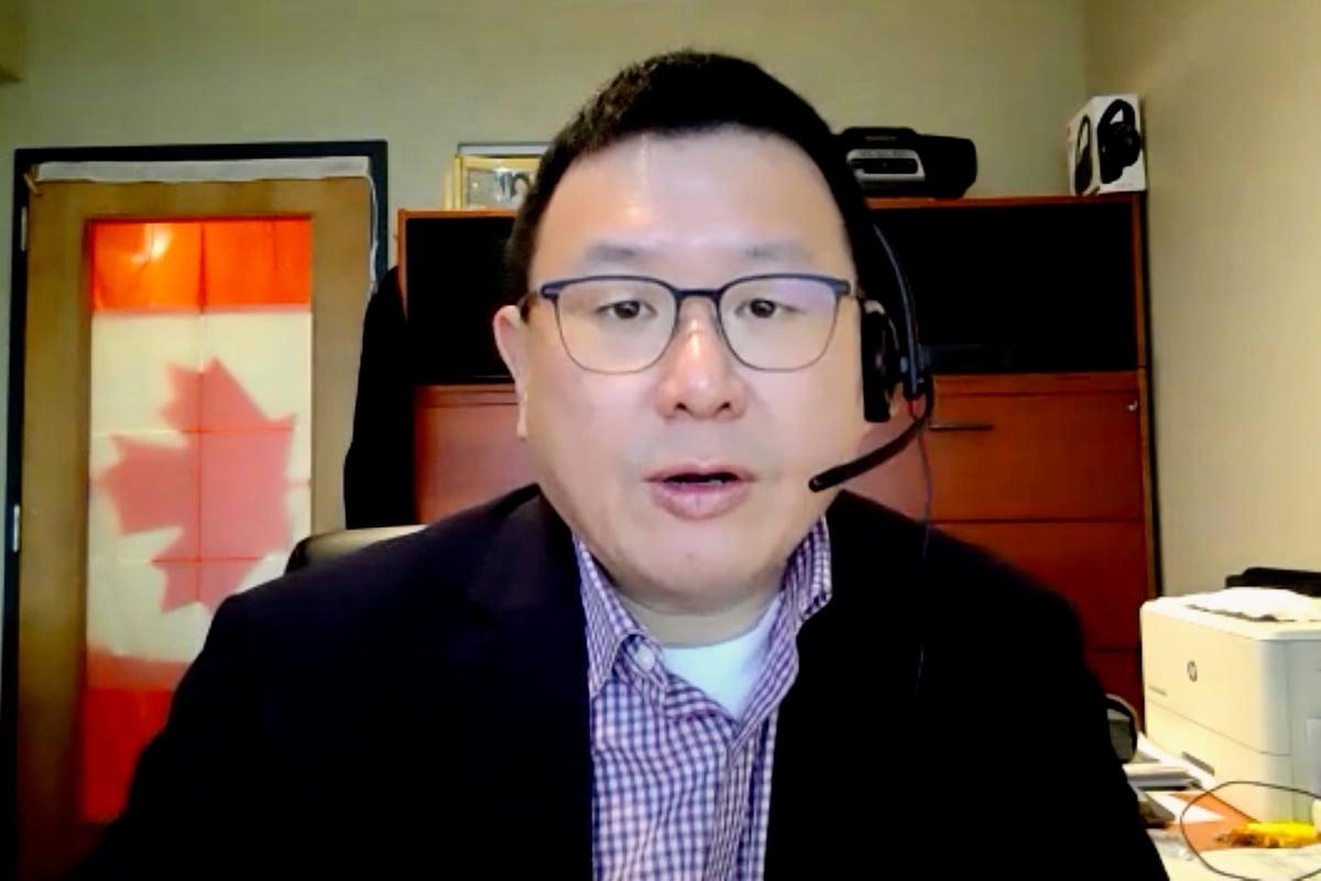 加拿大國會議員趙錦榮2020年10月5日接受大紀元採訪時說,社區不應懼怕獨裁專制政權。(周月諦/大紀元)
