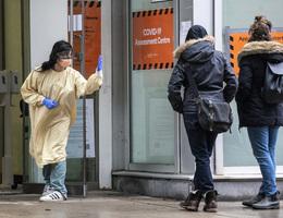 變種病毒引憂 加拿大安省住院病人增加21%