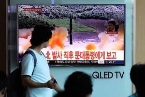 北韓頻射彈 美批准對日出售73枚攔截導彈