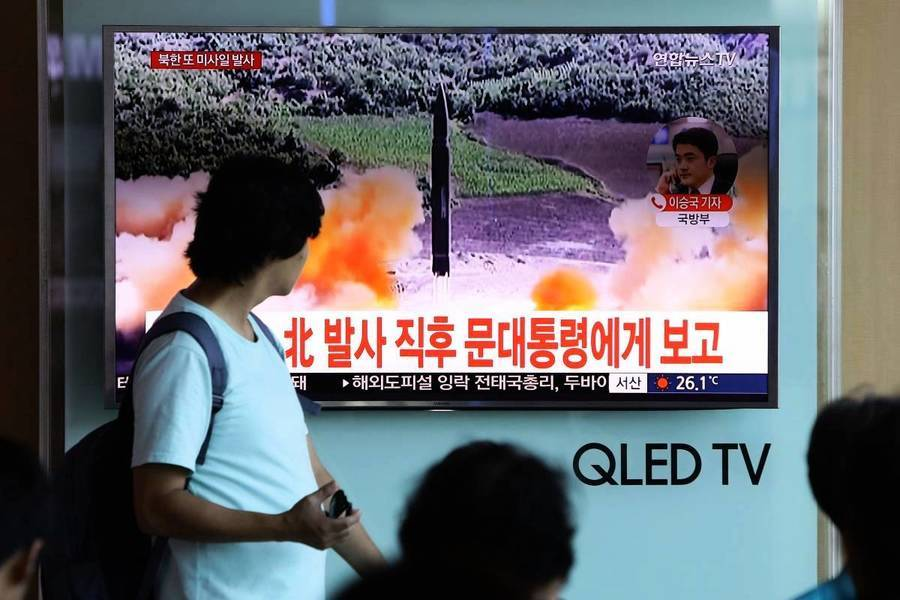 北韓一周內第二次發射不明彈體