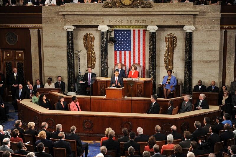 華盛頓特區美國國會。(法新社)
