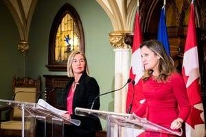 歐盟加拿大聯合聲明 支持香港自由及自治