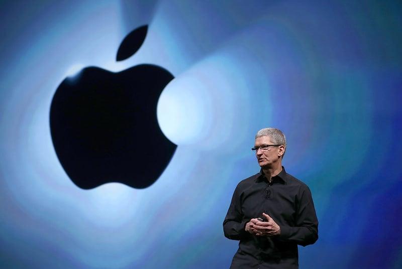 1月份,Imagination與蘋果公司簽署了新的設計專利互惠協議,這可能令特朗普政府的高層對中國人接管這家英國公司提出質疑。(Justin Sullivan/Getty Images)