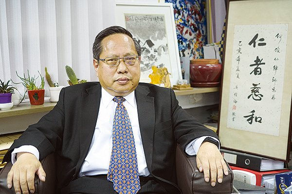 今年是「709大抓捕」維權律師事件5周年,中國維權律師關注組2020年7月8日晚上舉行全球網絡紀念活動。圖為中國維權律師關注主席何俊仁。(大紀元資料圖片)