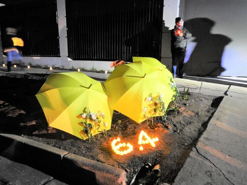 六四32|許智峯主辦  阿德萊德首個中領館外悼念六四活動