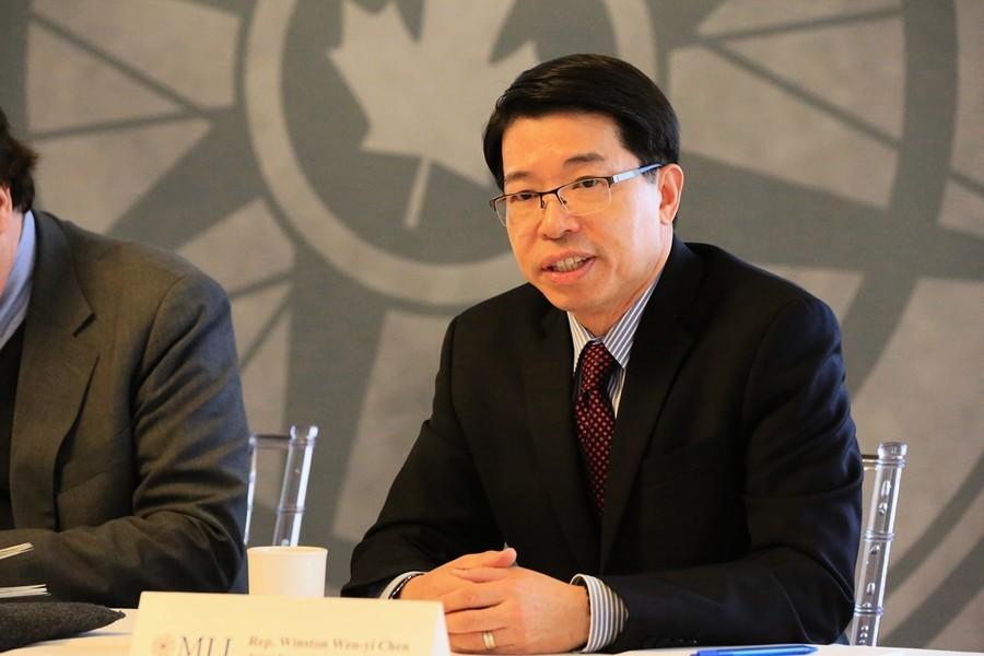 台駐加代表陳文儀:籲民主國家支持香港自由