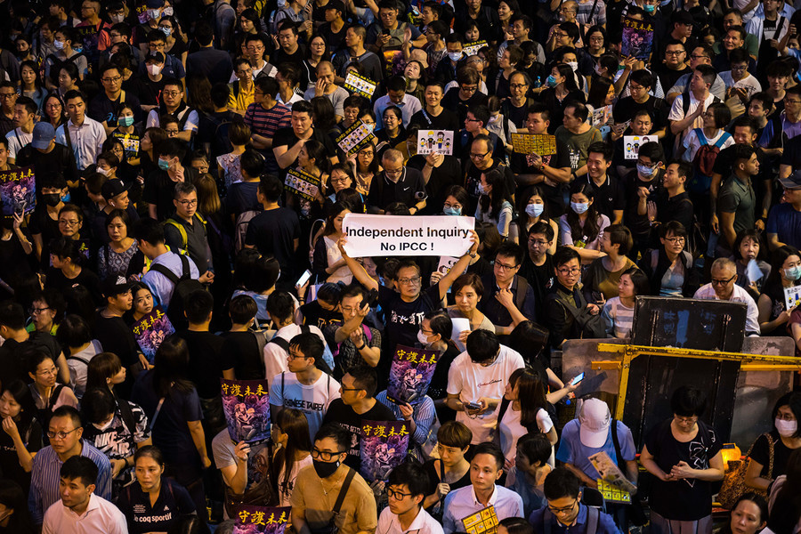 戈壁東:轉述一個美國公民對香港民主運動的看法