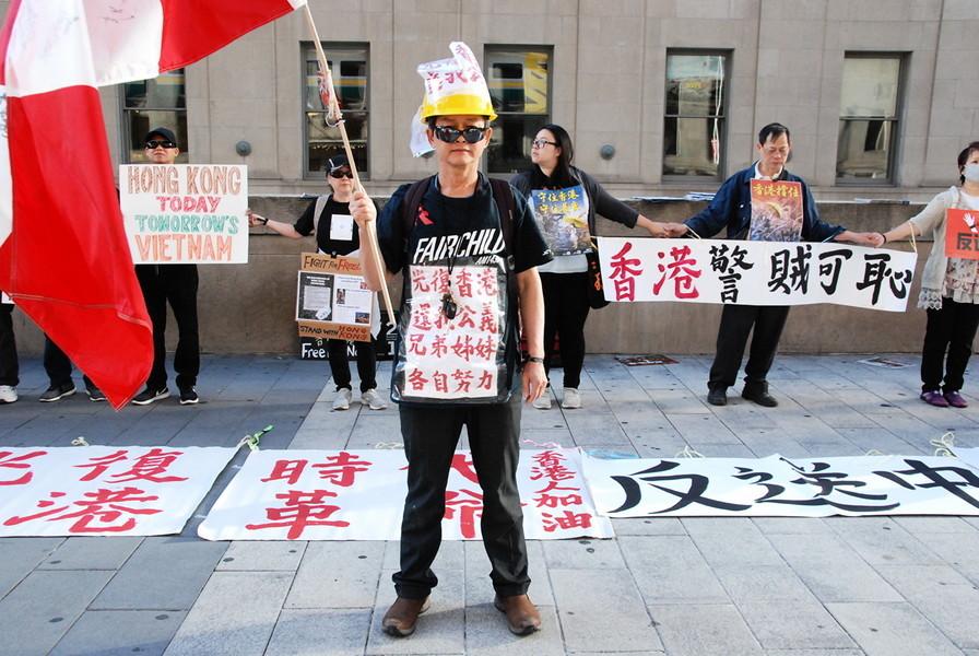 「香港之路」築人鏈 多倫多8.23同步聲援