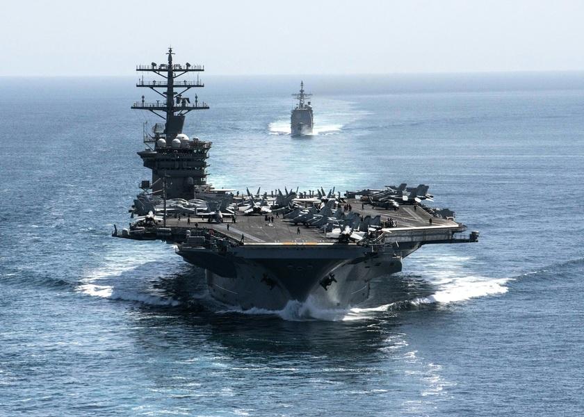美少將揭中共南海軍事部署 談美雙航母演習