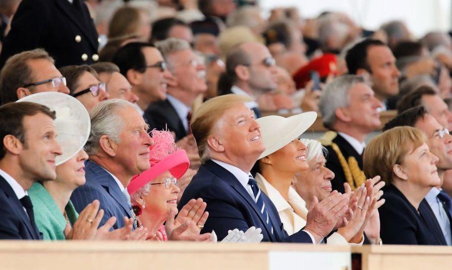 諾曼第登陸75周年 美英等國領袖集會紀念
