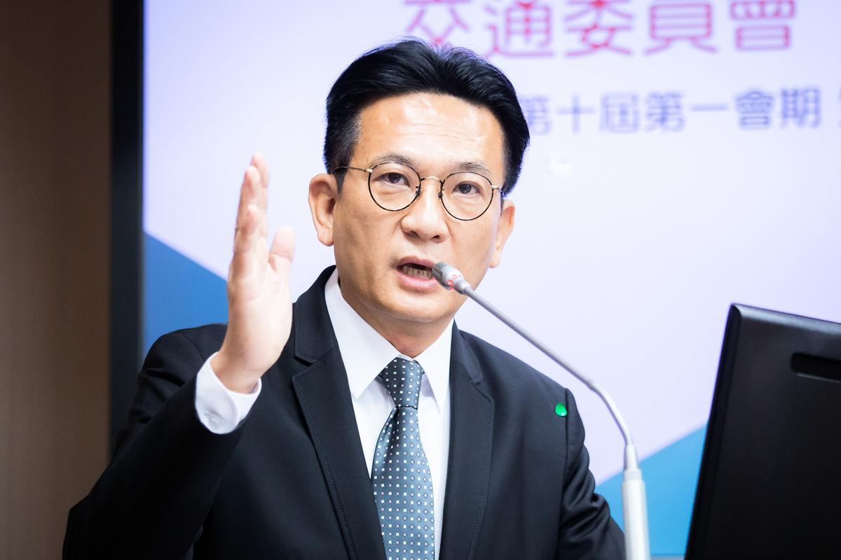 立委林俊憲26日表示,假消息的目的不是讓人相信,而是要擾亂社會安寧。資料照。(陳柏州/大紀元)