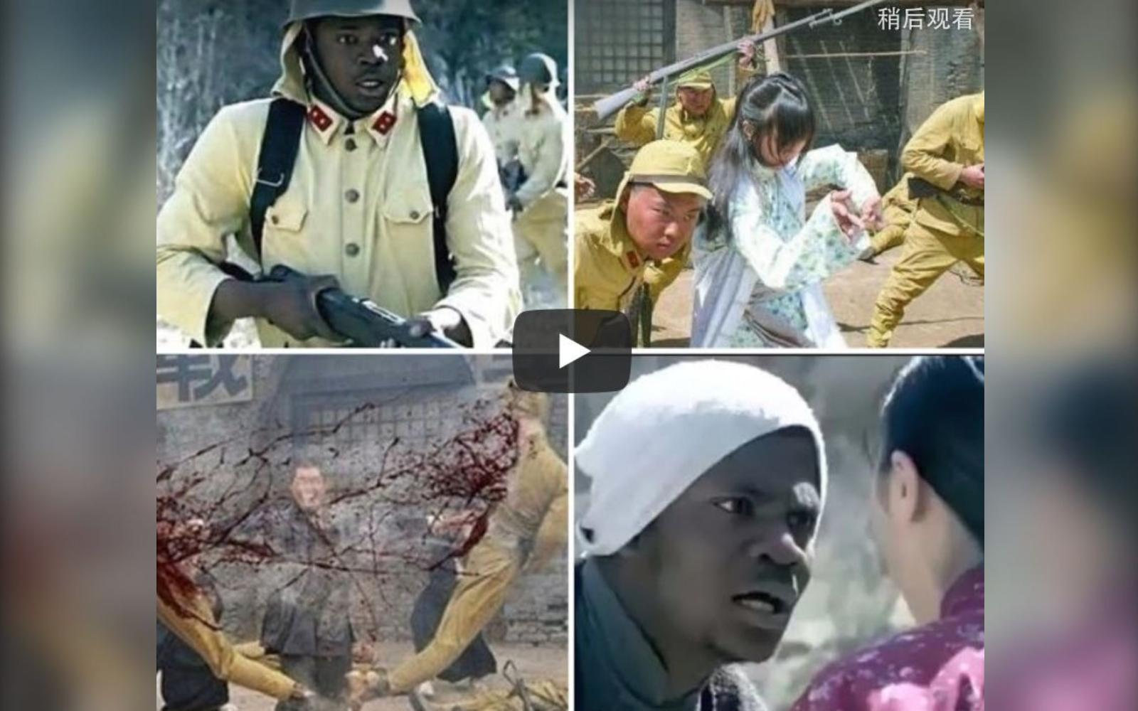 中共政治題材的影片在大陸影視界一向是禁區,但抗日劇卻一路通行,其中有不少違背歷史常識的影片,備受輿論詬病。(影片截圖)
