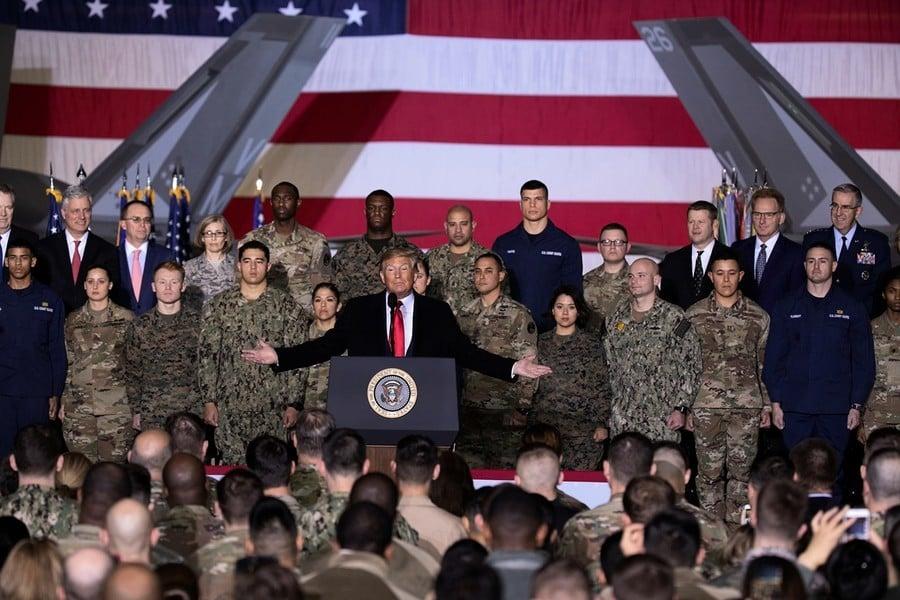 特朗普簽署國防授權法案 太空部隊正式成立
