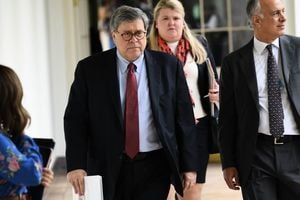 特朗普:司法部長巴爾23日離任