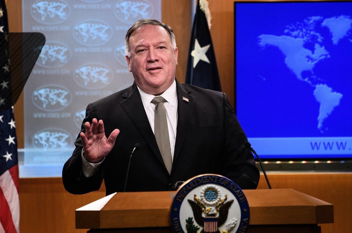 美國國務卿蓬佩奧2020年9月9日表示,中共很清楚,特朗普總統要確保美國人受到公平對待。圖為蓬佩奧資料照。(Photo by NICHOLAS KAMM / POOL / AFP)