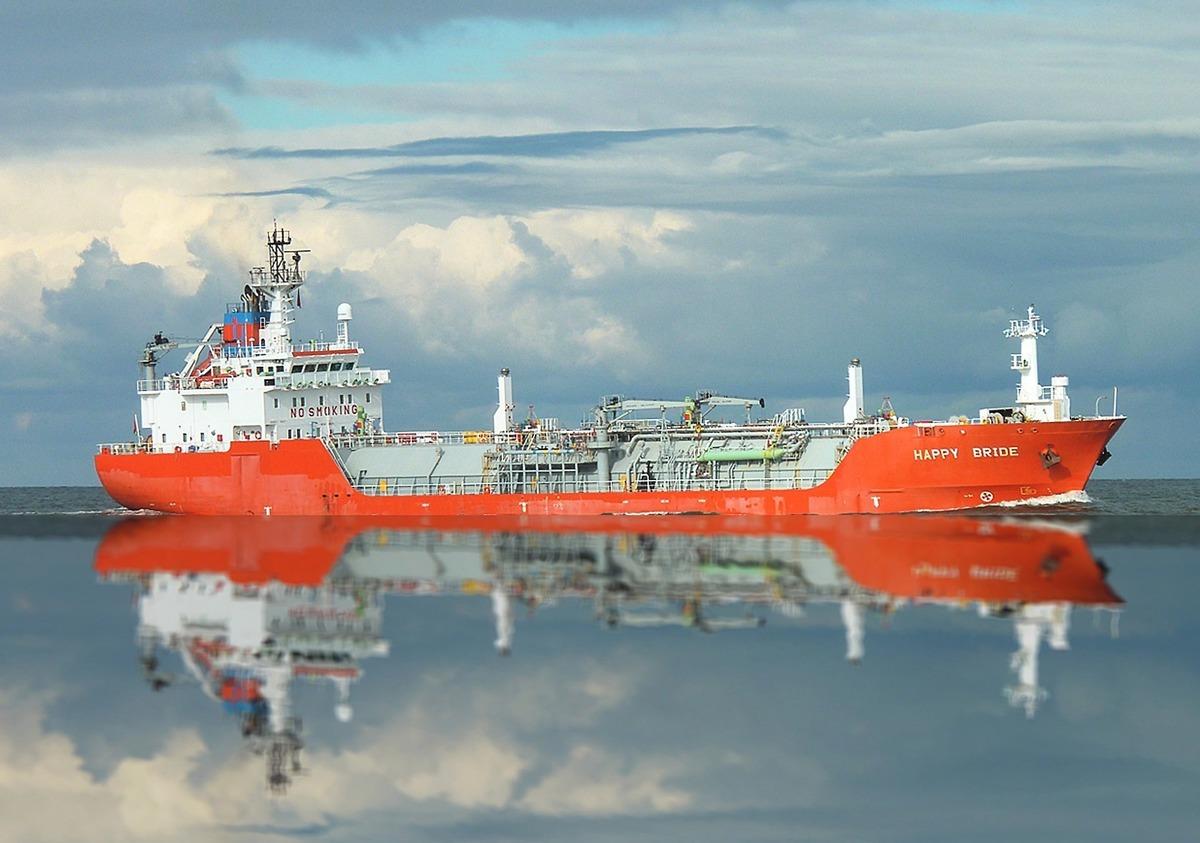 英國男子麥卡勒姆(Colin McCallum)在蘇格蘭海邊拍到一艘輪船看似飄浮在空中的畫面。此為一艘輪船的示意圖。(Pixabay)