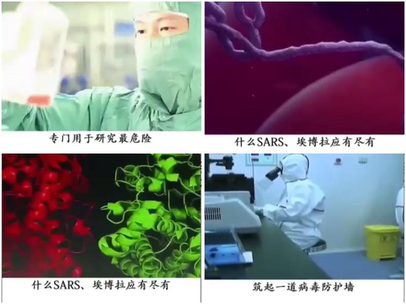 武漢病毒研究所擁有國家級的P4病毒學實驗室,一直是陰謀論的風暴眼。(大紀元合成圖)