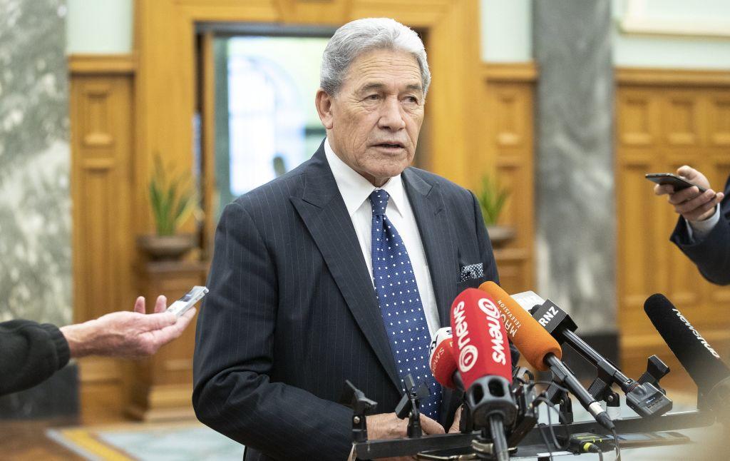 在紐西蘭外長溫斯頓·彼得斯(Winston Peters)的提議下,《聯合國憲章》75周年的「紀念宣言」中刪除了黨文化語言。(Kevin Stent - Pool/Getty Images)