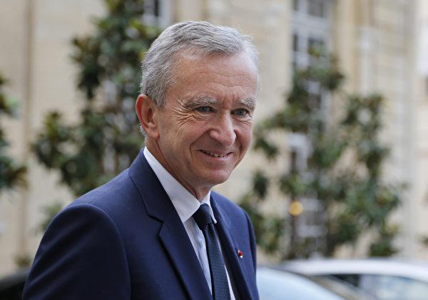 法國頂級奢侈品公司LVMH總裁阿爾諾(Bernard Arnault)。(FRANCOIS GUILLOT/AFP/Getty Images)