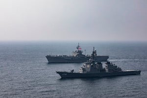 美日加強軍演以防備中共奪取台灣