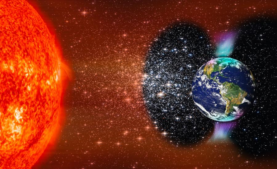 新發現:太陽風吹襲北極超過南極