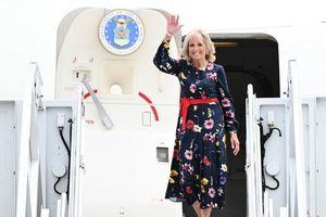 白宮:第一夫人將率團參加東京奧運開幕式