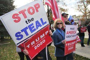 內華達州首府再次集會 抗議選舉舞弊