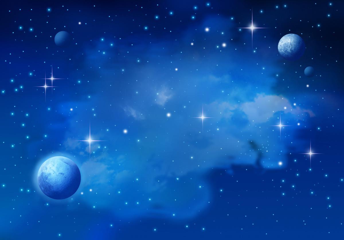 研究發現,宇宙中的暗物質會因為星系中的恆星形成而移動和增溫。圖為星系的示意圖。(Fotolia)