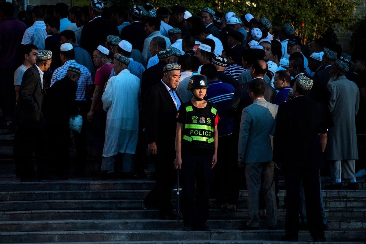 一名居住在哈薩克斯坦的維吾爾族婦女用了10年時間,找尋其在新疆伊寧市碩拉克村的22位親友,奇怪的是全村村民失聯。圖為示意照。 (AFP)