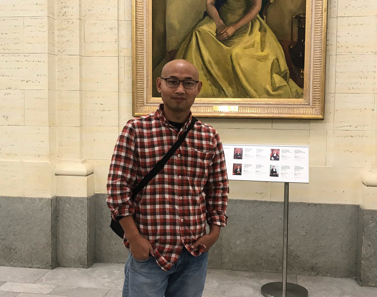 公民維權運動「南方街頭運動」活動家楊崇,2019年被營救到加拿大,目前定居在首都渥太華。(楊崇提供)