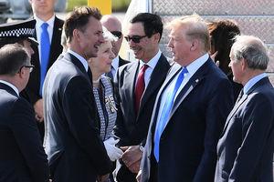 特朗普訪英 英外交大臣:密切關注華為風險