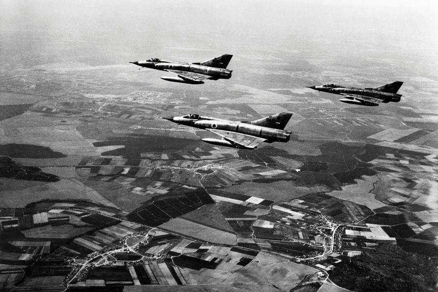 以色列如何3分鐘擊落5架前蘇聯米格機?