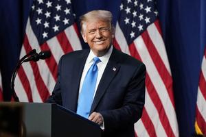 特朗普提名後演講:美國面臨歷史抉擇